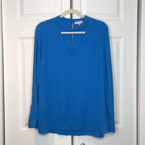 1. State long sleeve blouse